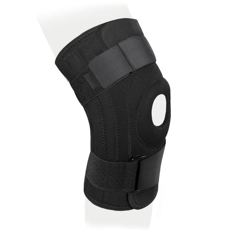 Бандаж на коленный сустав неразъемный со спиральными ребрами жесткости - фото 2