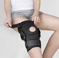 Бандаж на коленный сустав разъемный с регулятором угла сгибания