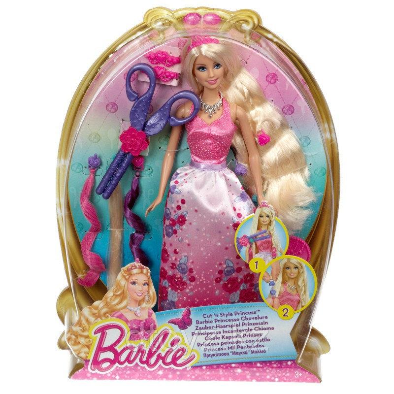 Barbie Принцесса Сказочные волосы