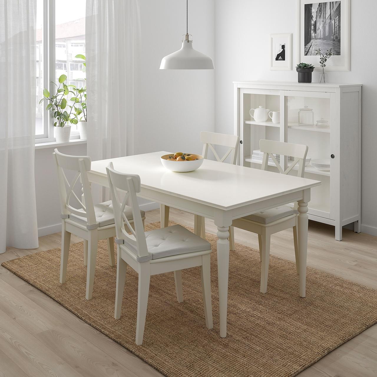 ЮСТИНА Подушка на стул, неокрашенный, 35/42x40x4.0 см - фото 2