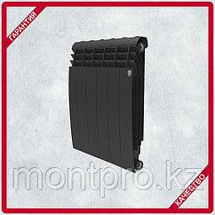 Биметаллический дизайн-радиатор Royal Thermo - BILINER - 500/90 чёрный выпуклый