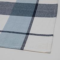 РУТИГ Скатерть, клетчатый орнамент синий, 145x240 см, фото 1