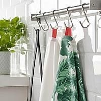 СИЛВЕРПОППЕЛ Полотенце кухонное, с рисунком зеленый, белый, 50x70 см, фото 1