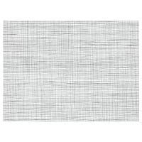СНУББИГ Салфетка под приборы, белый/черный, 45x33 см