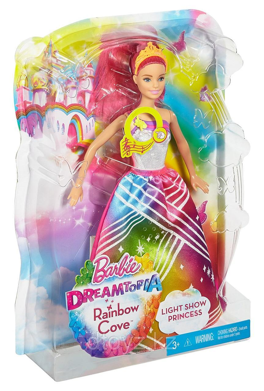 Barbie Радужная принцесса с волшебными волосами DPP90