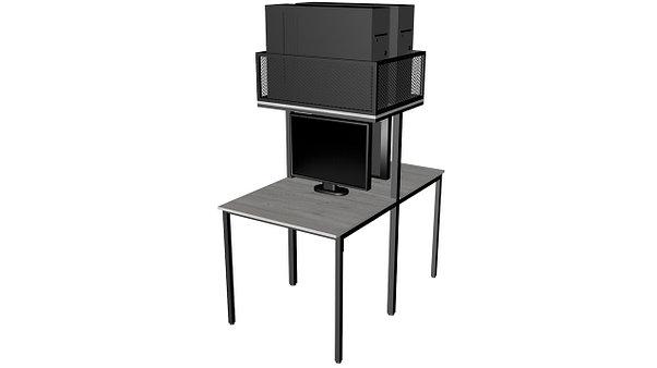 Стол для компьютера, для кибер арены, для компьютерных клубов, для офиса,, фото 2