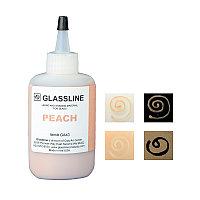 Краска для фьюзинга Glassline персиковая, 56гр.