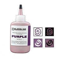 Краска для фьюзинга Glassline фиолетовая, 56гр.