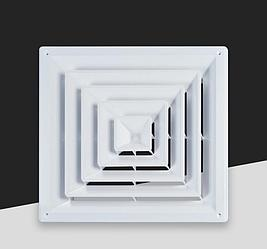 Диффузор квадратный  (анемостат) ABS-007C / D