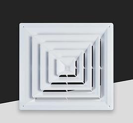 Диффузор квадратный (анемостат) ABS-007A / B
