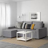 ГИММАРП Диван-кровать с козеткой, Рудорна светло-серый, фото 1