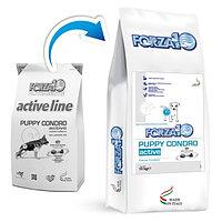 Cухой корм для щенков с проблемами опорно-двигательного аппарата Forza10 Puppy Condro Active (рыба)