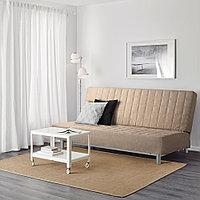 БЕДИНГЕ 3-местный диван-кровать, Шифтебу бежевый, фото 1