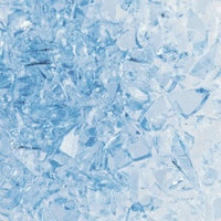 Крошка стеклянная Uroboros, System 96, цвет светло-голубой, 240гр.