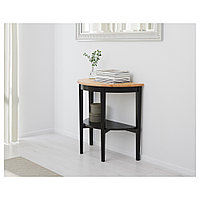 АРКЕЛЬСТОРП Приоконный стол, черный, 80x40x75 см, фото 1