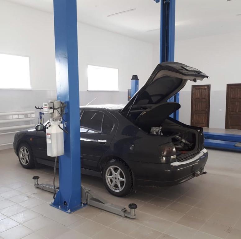 2-х Стоечный Автоподъемник Sillan для Автосервиса Lion Service, в п. Косшы