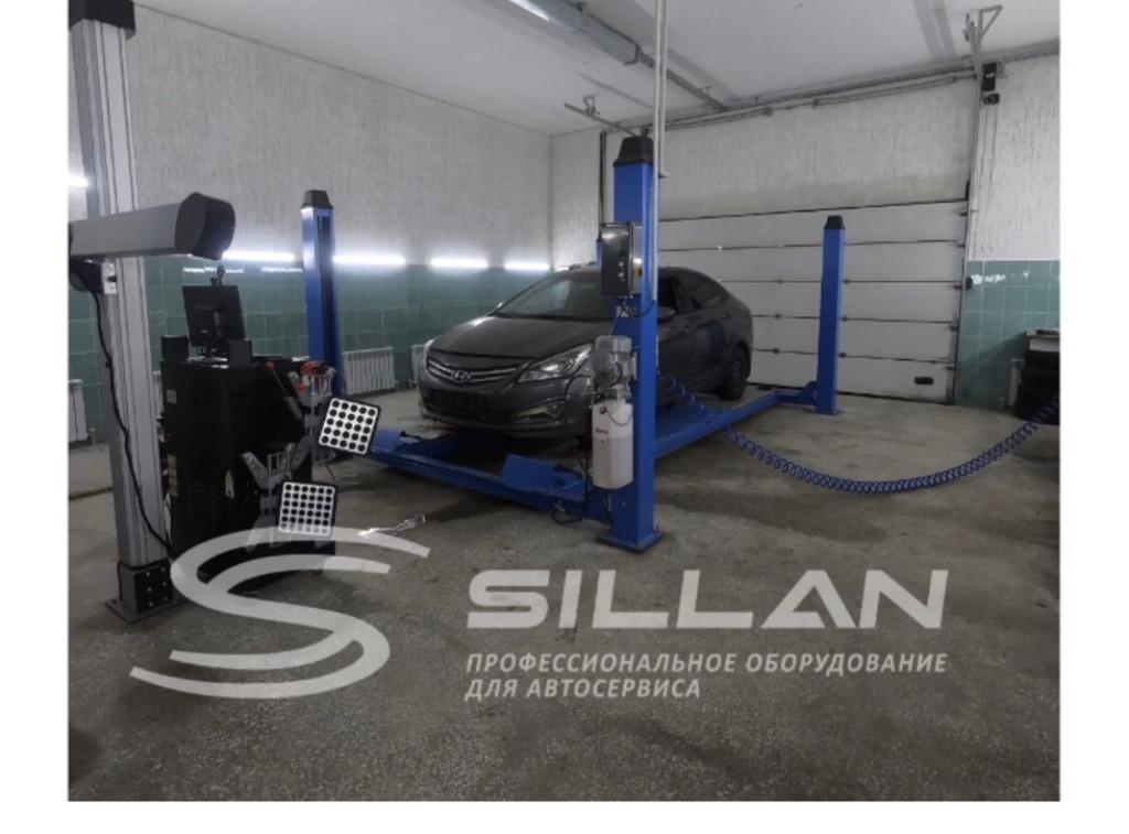 """Автоподъемники Sillan для Автосервиса """"Diamond"""" 1"""