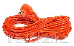 Удлинитель электрический PowerPlant 15 м, 3 х 1.0 мм2, 8 А