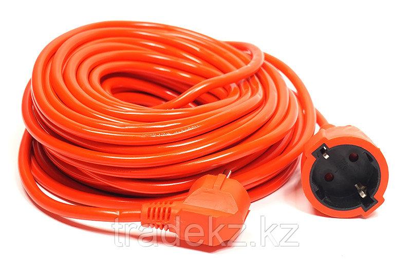 Удлинитель электрический PowerPlant 20 м, 3x1.5 мм2, 10А, морозостойкий