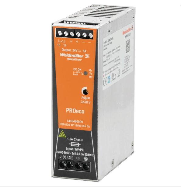 Блок питания PRO ECO 120W 24V 5A, 1-фазный