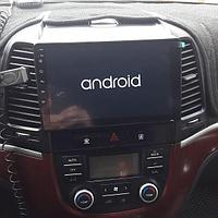 Магнитола HYUNDAI Santa fe Android Mac Audio