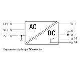 Блок питания PRO ECO 72W 12V 6A, 1-фазный, фото 2