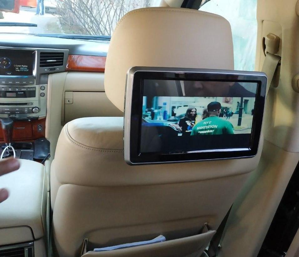 Штатный монитор планшет для автомашин Android LEXUS
