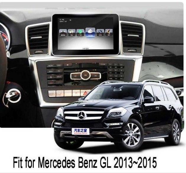 Магнитола Mercedes Benz ML GL 2013 - 2015 Android