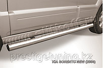 Защита порогов d76 труба KIA Sorento 2006-09