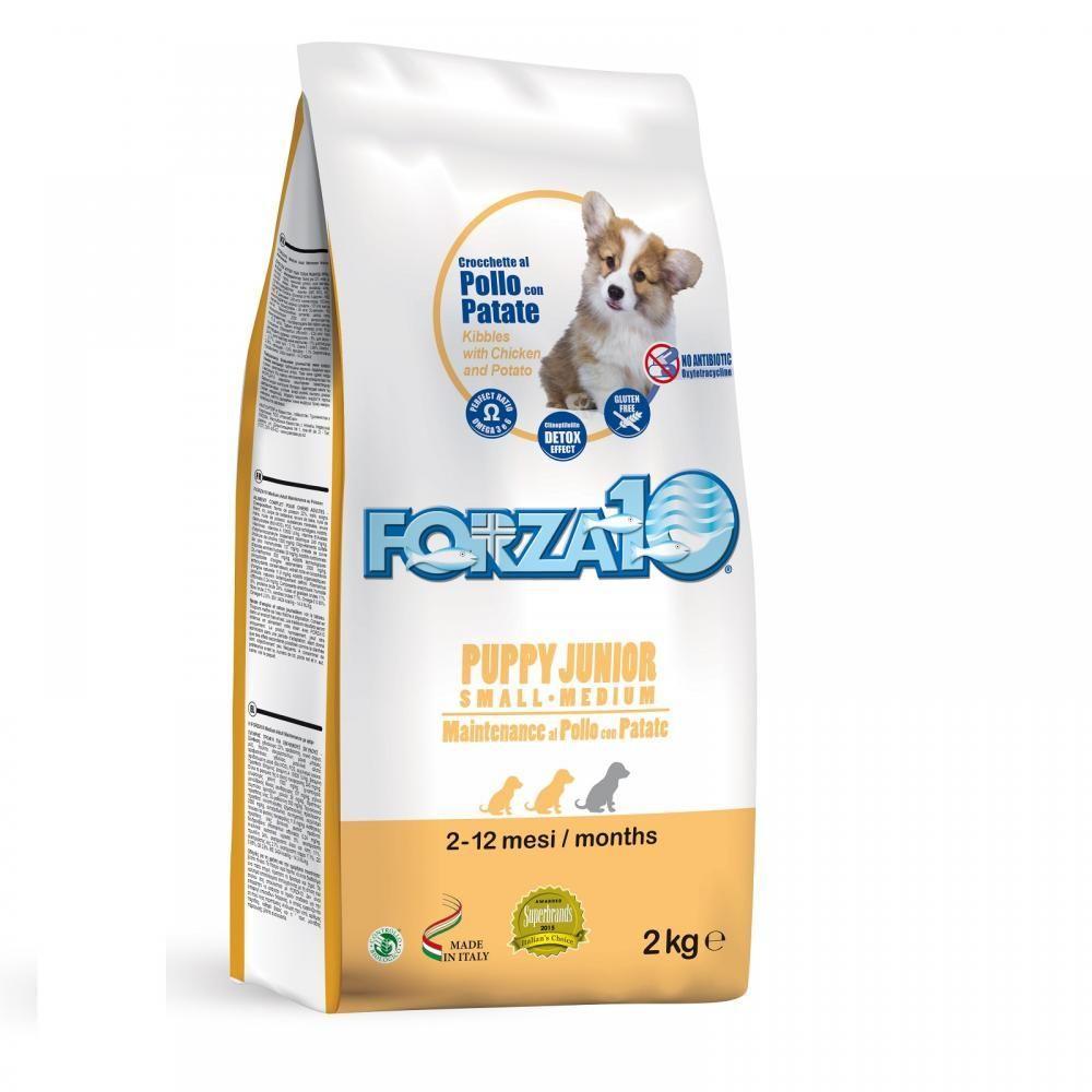 Корм Forza10 Puppy Junior для щенков и собак, в период беременности и лактации (Курица) - 15 кг