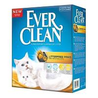 Комкующийся наполнитель Ever Clean Litter Free Paws для длинношерстных кошек - 6 л