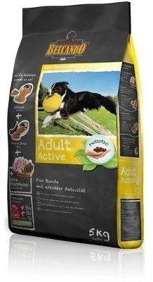 Беззерновой корм Belcando Aсtive для активных собак, средних и крупных пород (Птица с Рисом) - 15 кг