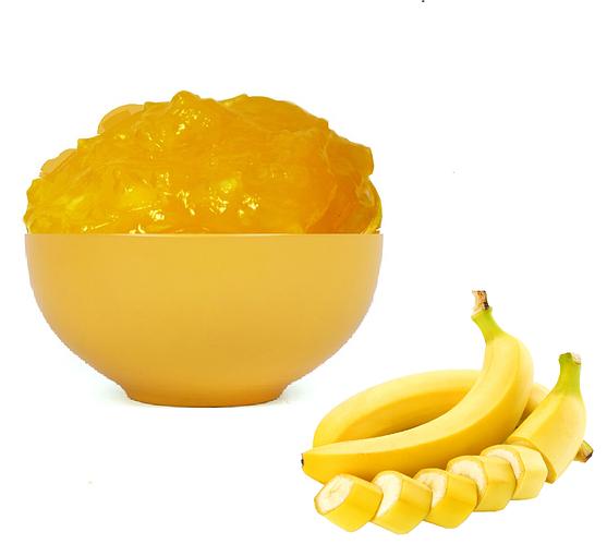 Начинка т/с кондитерская со вкусом банана 1/15 кг (Уфа)