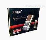 Электробритва Kemei  в подарочной упаковке, фото 5