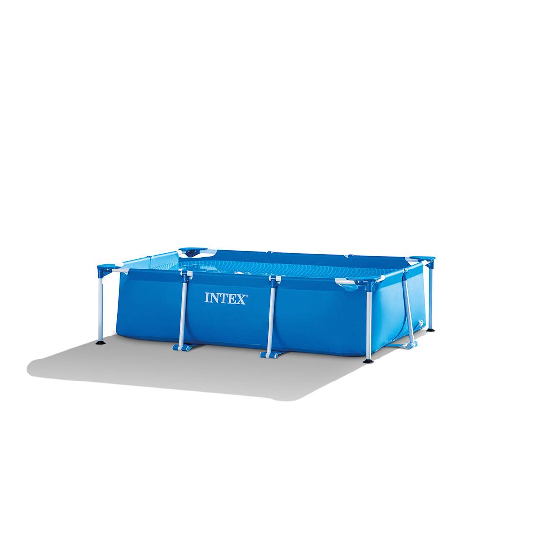 Каркасный бассейн Rectangular Frame 260 x 160 х 65 см, INTEX, 28271NP