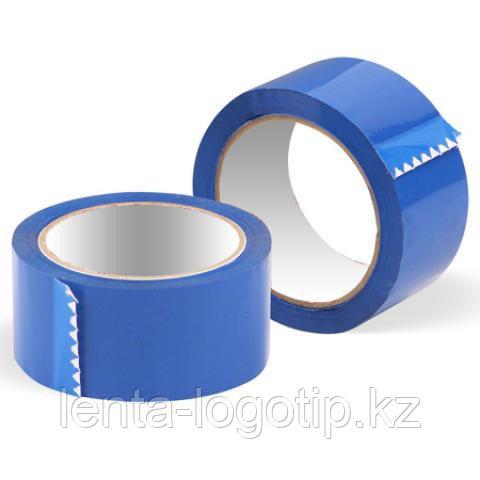 Скотч разноцветный Синий