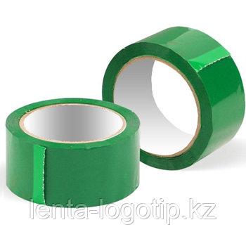 Скотч разноцветный Зеленый