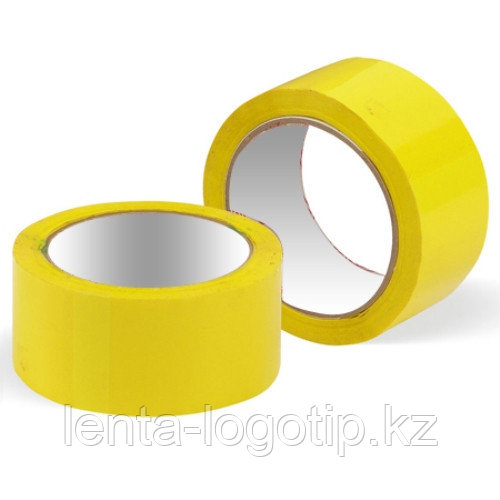 Скотч разноцветный Желтый скотч