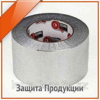 Скотч алюминиевый 25 м × 48 мм