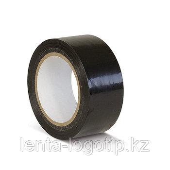 Разметочная клейкая лента ПВХ 150мкн 48 мм Черная