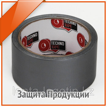 Скотч армированный ТПЛ 50 м × 160 мкм  Серый