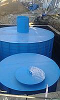 Емкость для воды 2,5 м3 (Собственное производство), фото 1