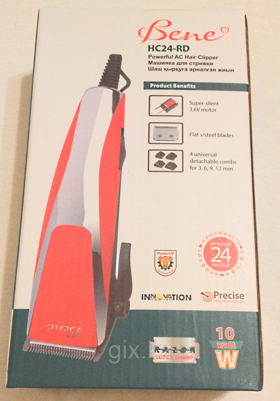 Машинка для стрижки волос HC24RD