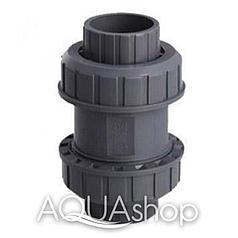 Обратный клапан, диаметр 75 мм. ПВХ трубы и фитинги для бассейнов.