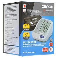 Тонометр Omron M3 Expert HEM 7132 ALRU медицинский автоматический на плечо, Тонометры автоматические, №1