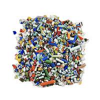 Стеклянные пластины MILLEFIORI COE104, смешанные, 100г.