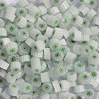 Стеклянные пластины MILLEFIORI COE104, Прозрачные, Т96, d=6-7мм, 100г.