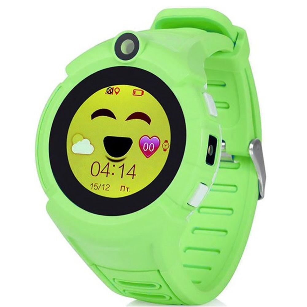 SMART часы с GPS трекером Q360 green