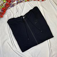 Толстовка Nike W NSW Hoodie FZ JRSY Black CJ3752-010 размер: 2XL, фото 1