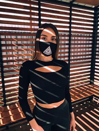 Стильные молодежные маски с нанесением в Алматы, фото 2